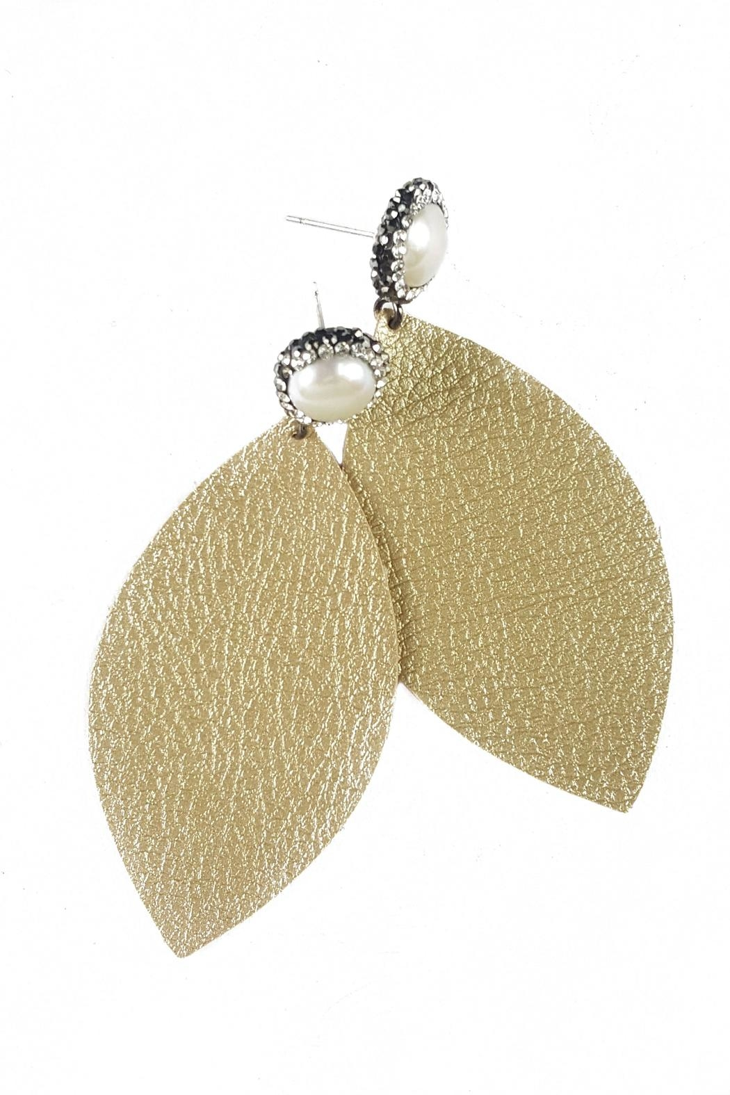 Fabulina Designs Mercy Earrings - Front Cropped Image