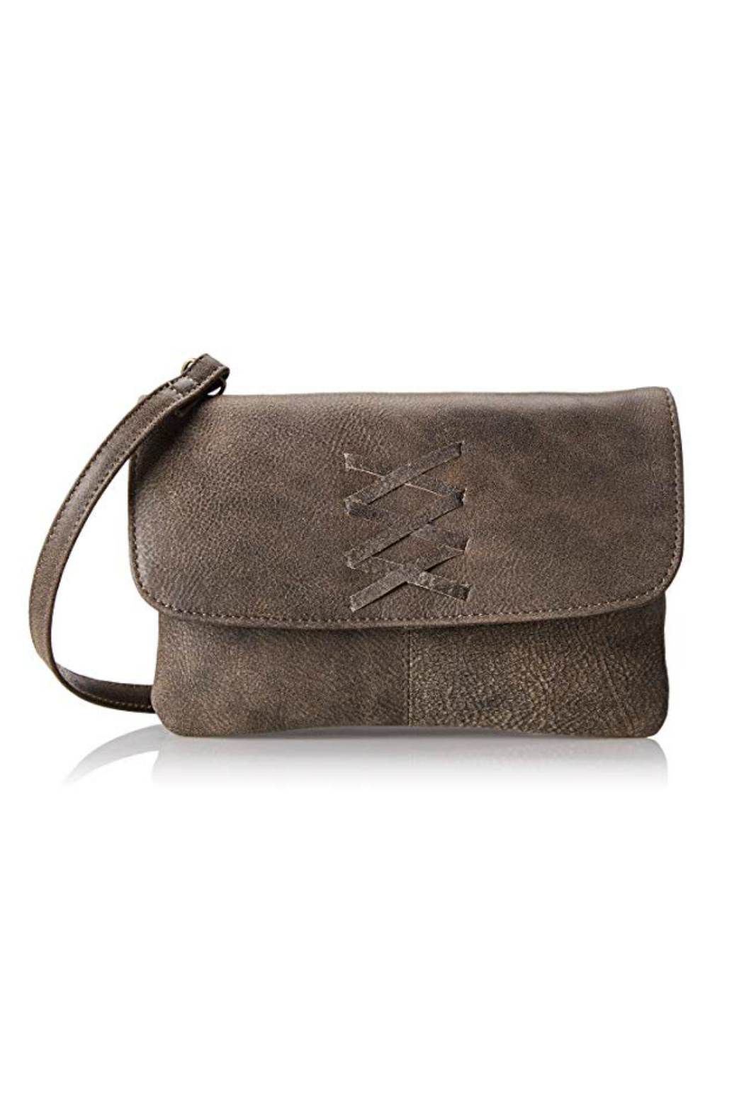 Latico Leathers Meredith Crossbody Clutch - Front Cropped Image