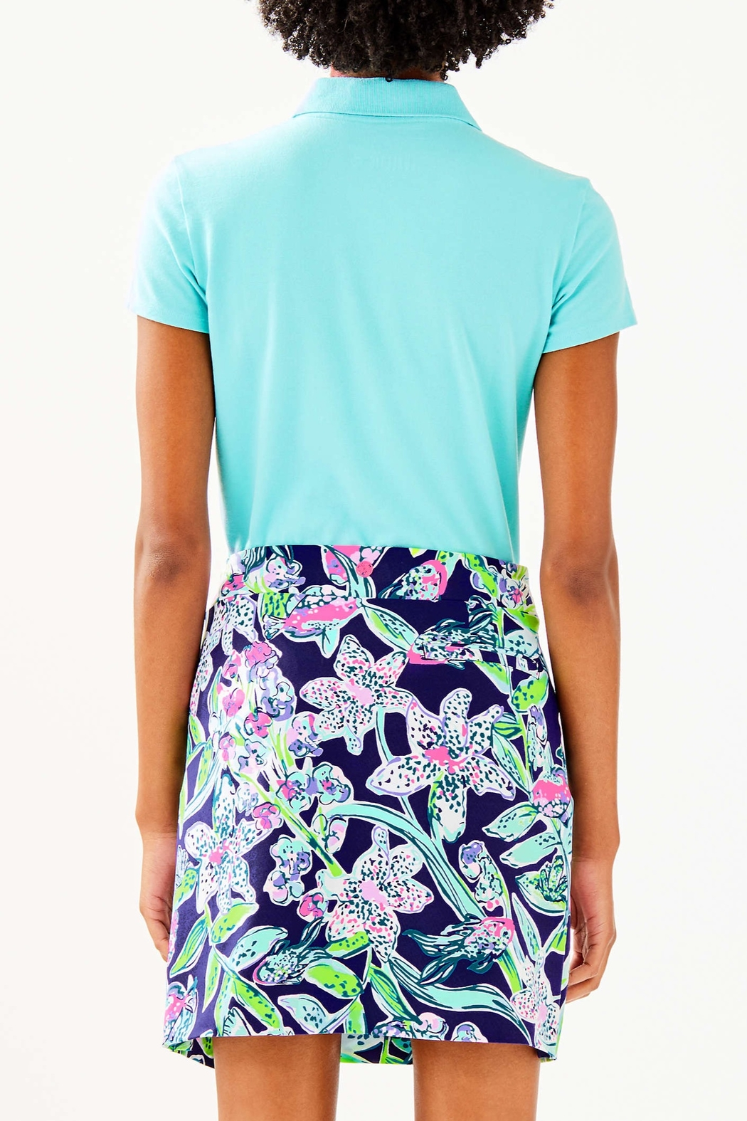 Lilly Pulitzer  Meredith Luxletic Polo - Front Full Image