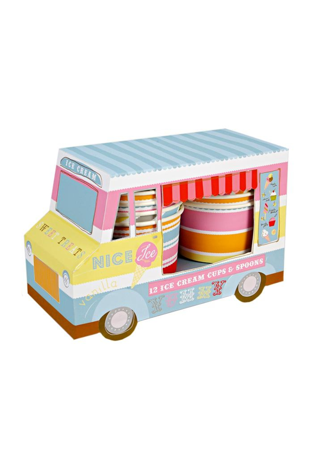 Meri Meri Ice Cream Van - Main Image