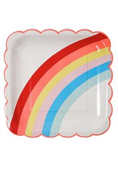 Shoptiques Product: Rainbow Dinner Plate