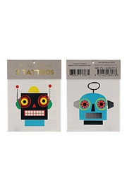 Meri Meri Robot Tattoos - Product Mini Image