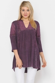 Apparel Love Merida Boho Top/Tunic - Front cropped
