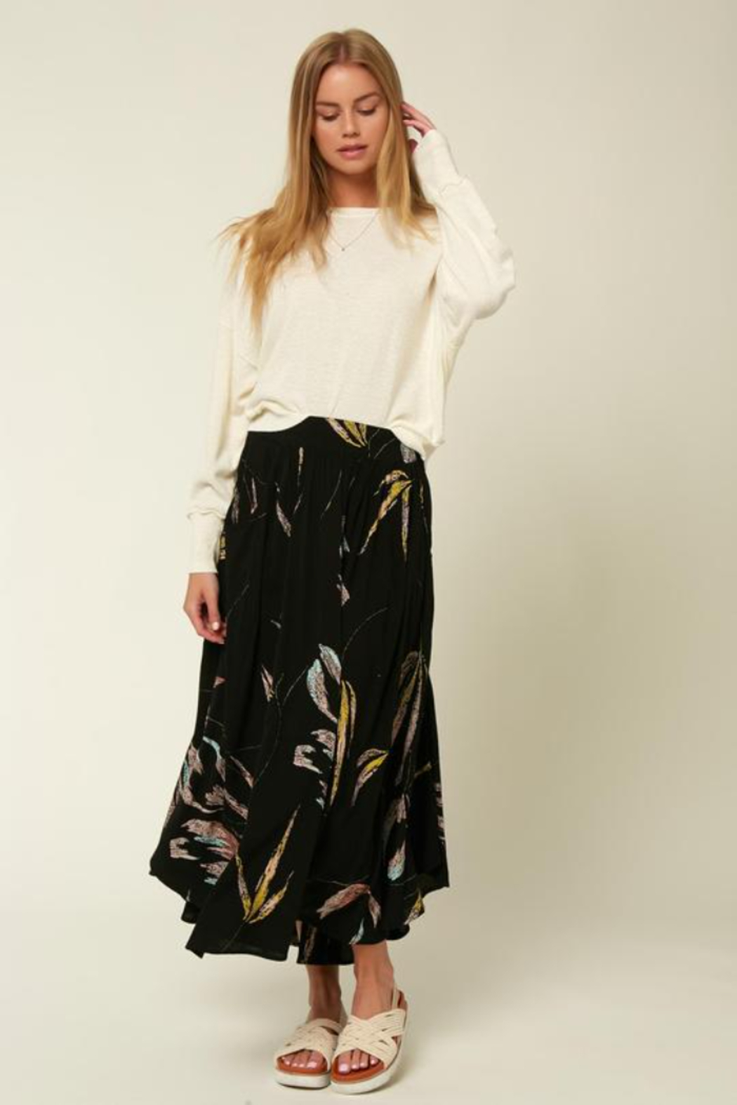 O'Neill Merin Floral Skirt - Front Cropped Image