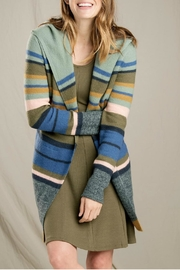 Toad & Co. Merino Striped Hoodie - Front cropped