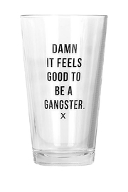 MERIWETHER Damn Gangster Glass - Front cropped