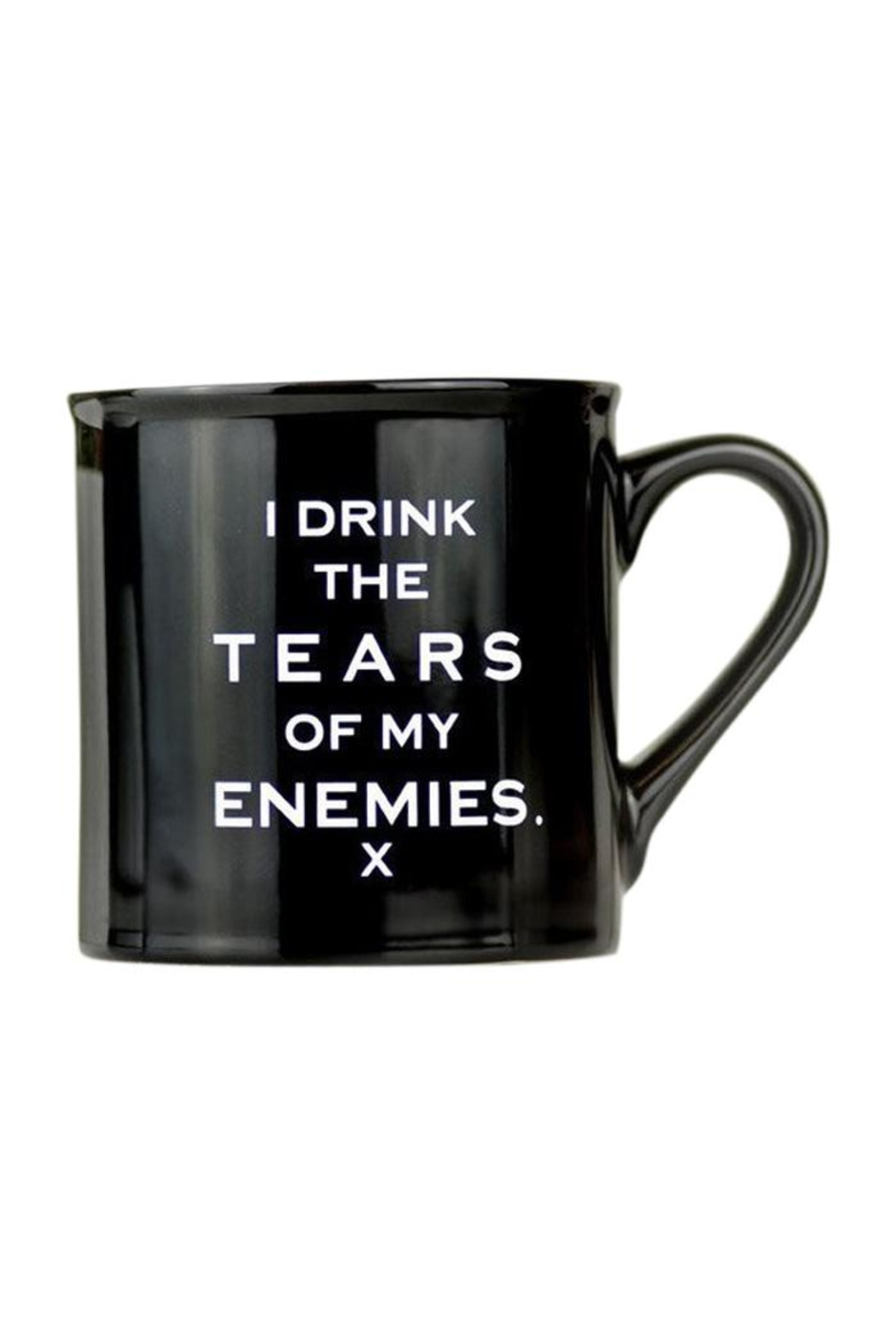 MERIWETHER Enemies Tears Mug - Front Cropped Image