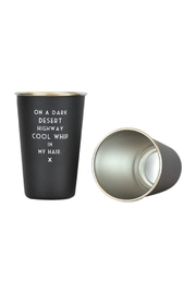 MERIWETHER Mistaken Lyric Cup - Product Mini Image