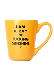 MERIWETHER Ray Of Sunshine Mug - Front cropped