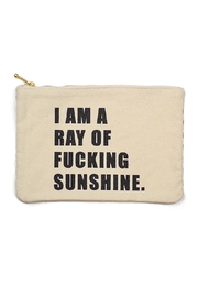 MERIWETHER Ray Sunshine Zip-Pouch - Product Mini Image