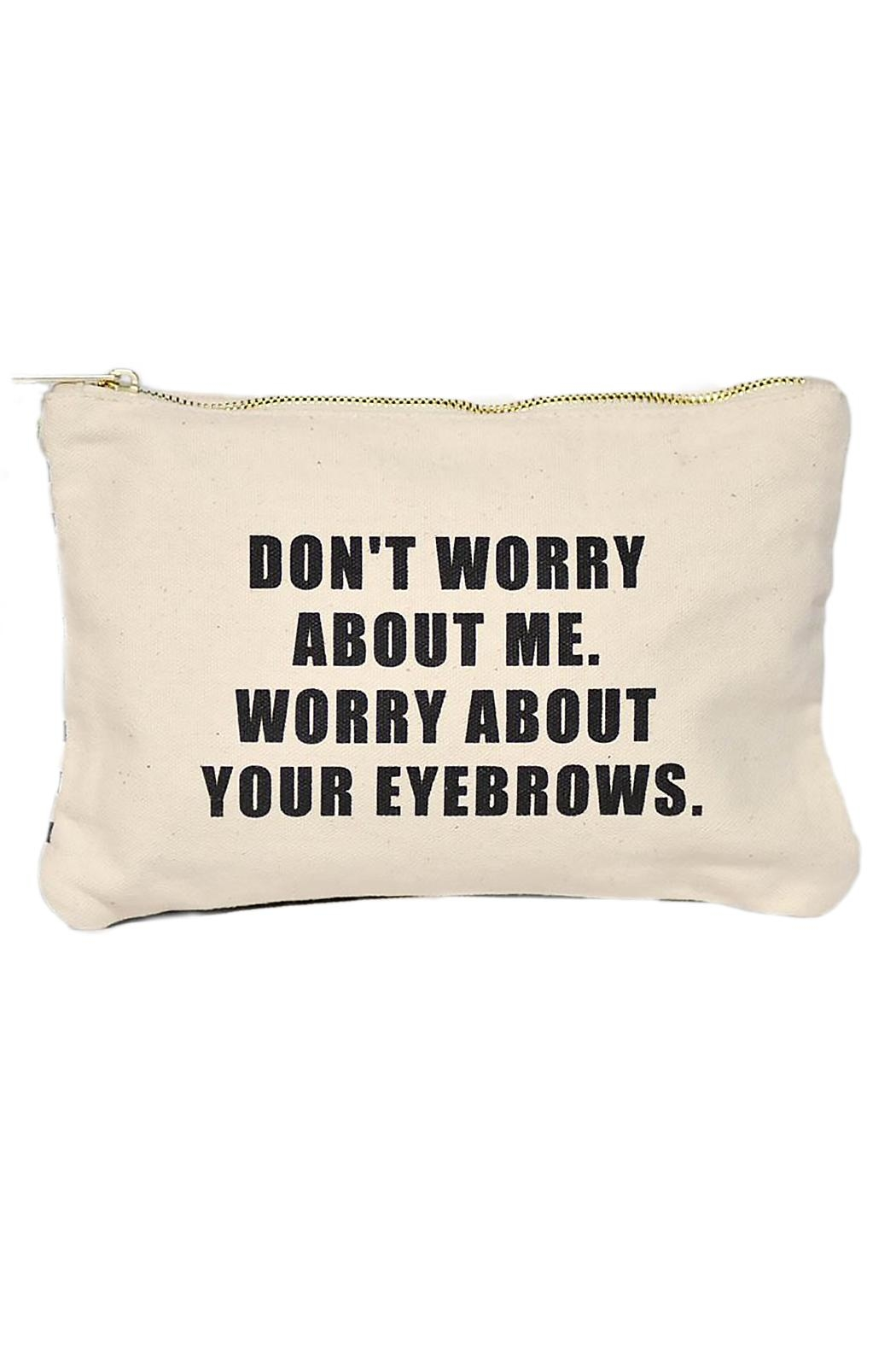 MERIWETHER Worry Eyebrow Zip-Pouch - Main Image