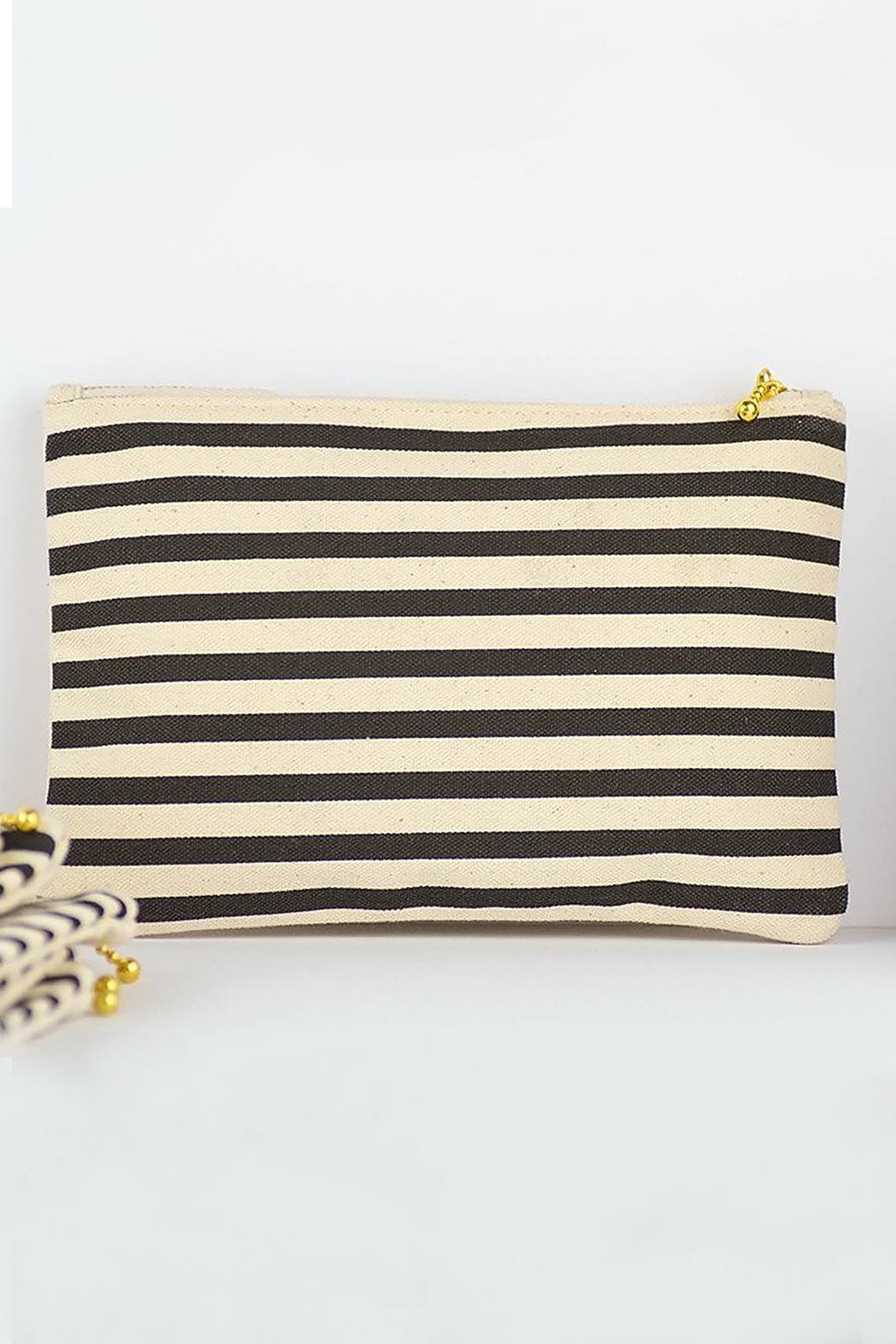 MERIWETHER Worry Eyebrow Zip-Pouch - Front Full Image