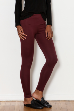 Shoptiques Product: Merlot High Waisted Legging