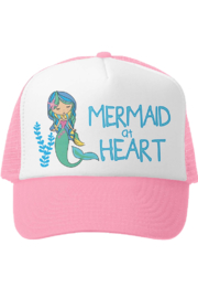 Grom Squad Mermaid at Heart Trucker Hat - Front cropped