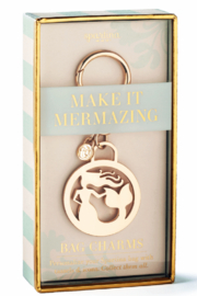 Spartina 449 Mermaid Bag Charm - Product Mini Image