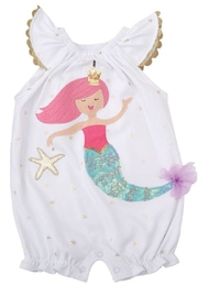 MUDPIE Mermaid Bubble - Front cropped