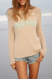 Wooden Ships Mermaid Crewneck Sweater - Front cropped