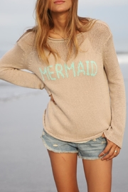 Wooden Ships Mermaid Crewneck Sweater - Front full body