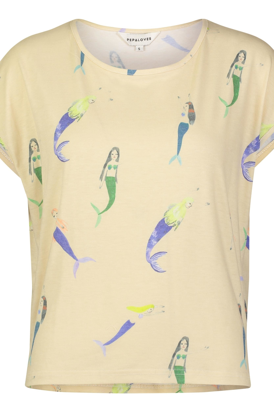 PepaLoves Mermaid  Delights Tee - Front Cropped Image