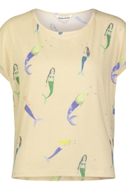 PepaLoves Mermaid  Delights Tee - Front cropped