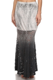 T-Party Fashion Mermaid Grey-Lace Skirt - Product Mini Image