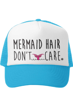 Grom Squad Mermaid Hair Don't Care Trucker Hat - Product List Image