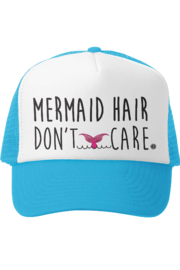 Grom Squad Mermaid Hair Don't Care Trucker Hat - Product Mini Image