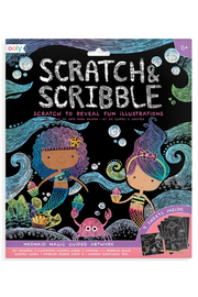Ooly Mermaid Magic Scratch and Scribble Scratch Art Kit - Product Mini Image