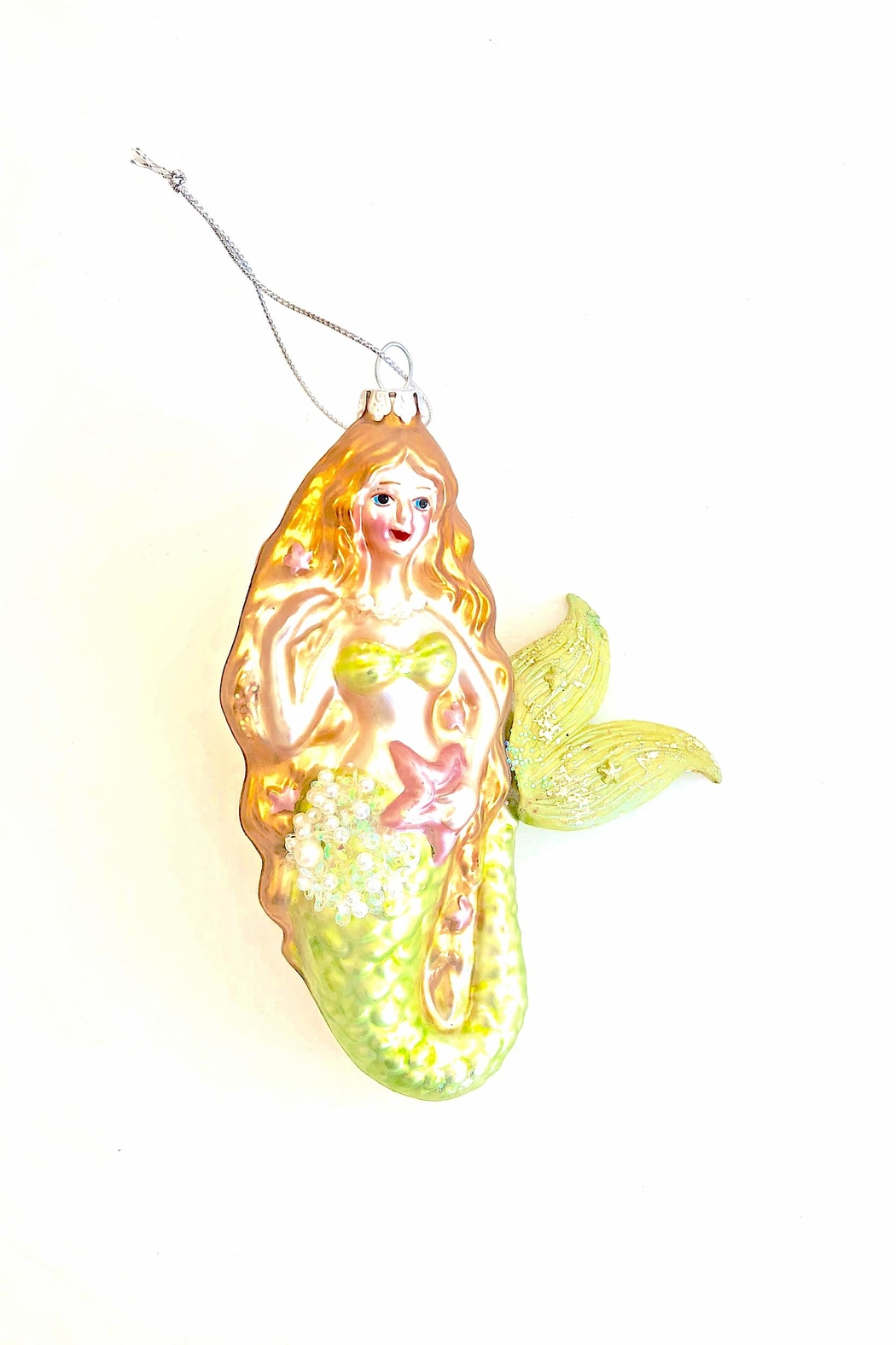 One Hundred 80 Degrees Mermaid Ornament - Front Cropped Image