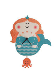 Modern Moose Mermaid Pendulum Clock - Product Mini Image