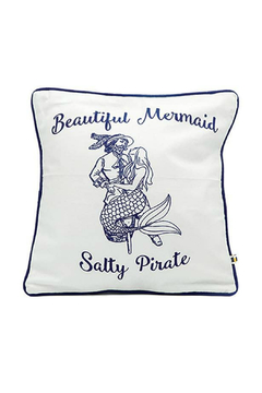 DEI Mermaid Pirate Accent Pillow - Product List Image