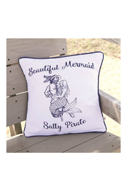 DEI Mermaid Pirate Accent Pillow - Side cropped