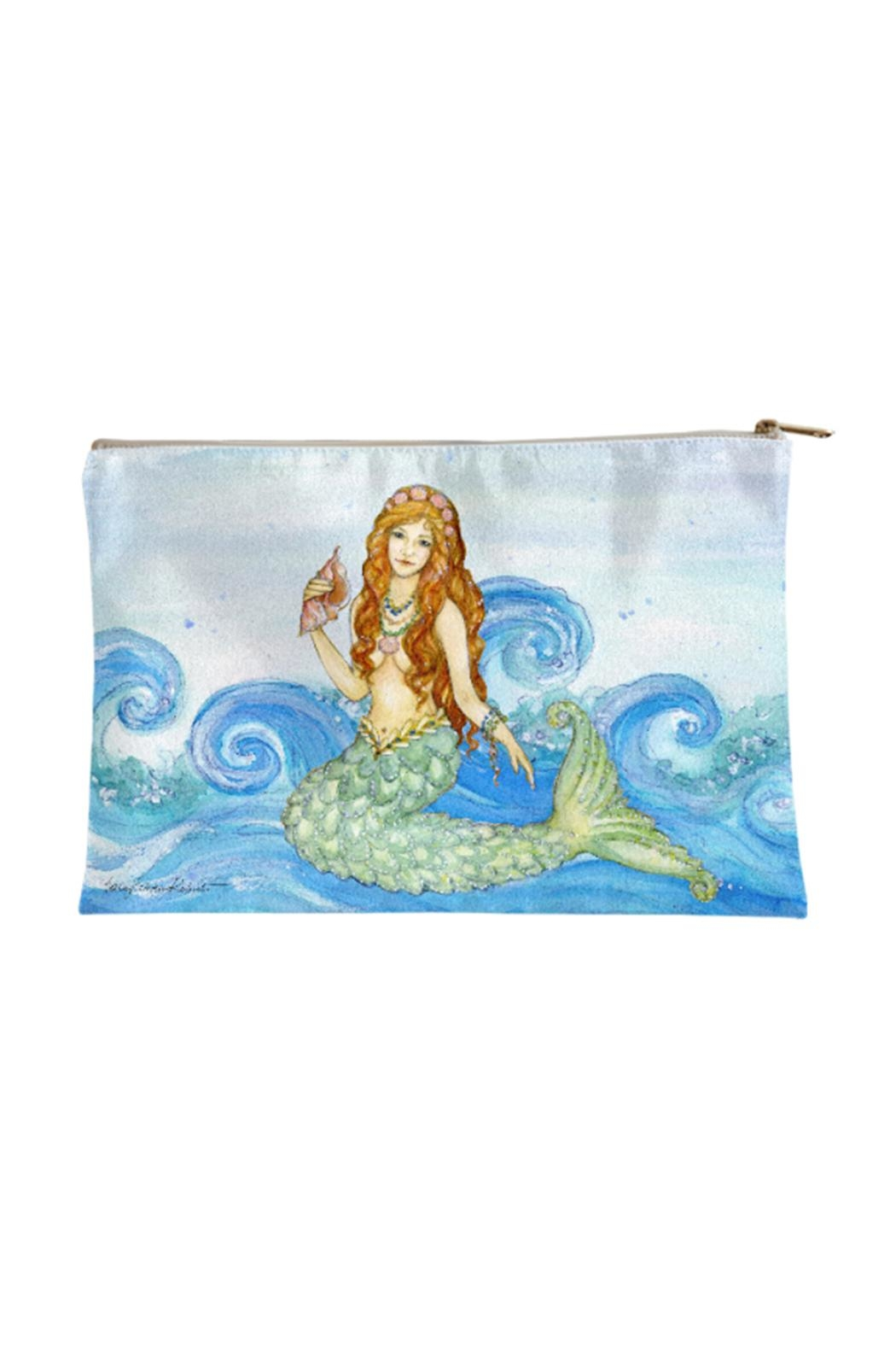 Sally Eckman Roberts Mermaid Pouch Large - Main Image