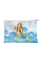 Sally Eckman Roberts Mermaid Pouch Large - Front cropped