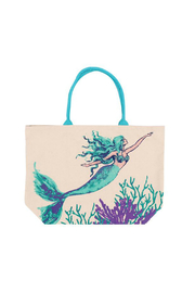 DEI Mermaid Print Tote - Product Mini Image