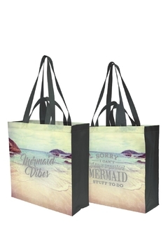Twist Mermaid Shopping Tote - Product List Image