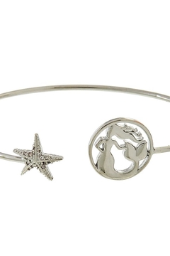 Fashion Jewelry Mermaid-Star Silver Cuff-Bracelet - Product List Image