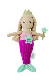 Mud Pie Mermaid Tooth-Fairy Doll - Front cropped