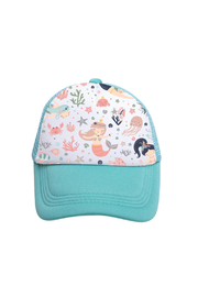 Tiny Trucker Mermaid Trucker Hat - Product Mini Image
