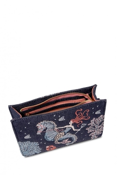 Spartina 449 Mermaid Wristlet Crossbody - Alternate List Image