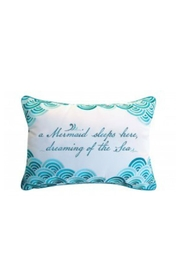 Rightside Design Mermaiddreaming Outdoor Pillow - Front cropped