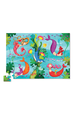 Crocodile Creek Mermaids 72 Piece Puzzle - Alternate List Image