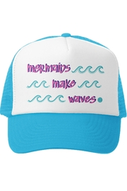 Grom Squad Mermaids Make Waves Trucker Hat - Product Mini Image
