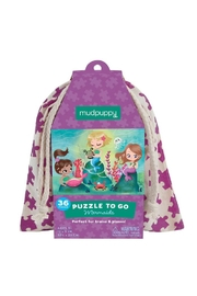 Mudpuppy Mermaids Puzzle-To-Go - Front cropped