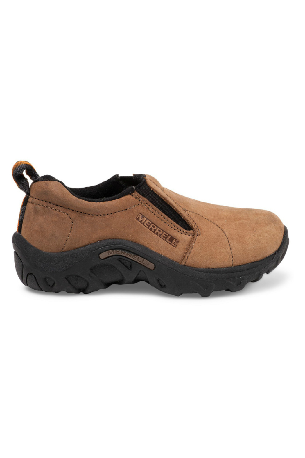 Merrell Kids Jungle Moc Brown Nubuck - Front Full Image