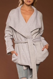 Merritt Charles Oversized Wrap Jacket - Product Mini Image