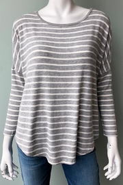 Merritt Charles Tom Stripe Top - Product Mini Image