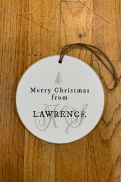 Clairmont & Co Merry Christmas from Lawrence KS - Alternate List Image