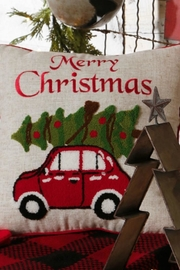RAZ Imports Merry Christmas Pillow - Product Mini Image