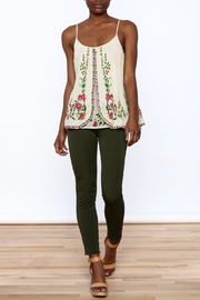 Mes Demoiselles Ivory Embroidered Blouse - Front full body
